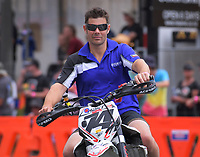 Duncan Hart (Tauranga), Supermoto. The 2018 Suzuki series Cemetery Circuit motorcycle racing at Cooks Gardens in Wanganui, New Zealand on Wednesday, 28 December 2018. Photo: Dave Lintott / lintottphoto.co.nz
