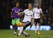31st October 2017, Craven Cottage, London, England; EFL Championship football, Fulham versus Bristol City; Tom Cairney of Fulham in action