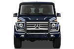 Straight front view of a   2013 Mercedes-Benz G-Class G550 SUV
