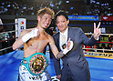 WBC Super Flyweight Title Bout Sylvester Lopez of Philippines vs Yota Sato of Japan