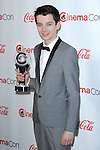 """Asa Butterfield at the """"2013 Cinemacon Big Screen Achievement Awards"""" held at  Caesar's Palace in Las Vegas, Nevada April 18, 2013"""