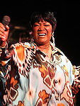"June 3, 2010 New York: Singer Patti LaBelle performs ""BB King's Blues Club"" on June 3, 2010 in New York City."