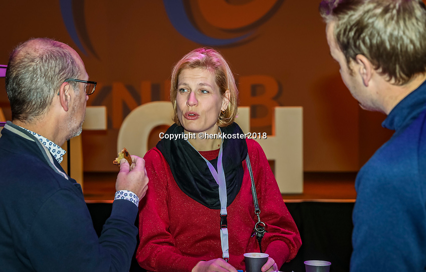Nieuwegein,  Netherlands, 24 November 2018, KNLTB Year congress KNLTB, instroom<br /> Photo: Tennisimages.com/Henk Koster