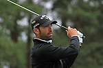 Alvaro Quiros (ESP) tees off on the 8th tee during Day 3 of the BMW PGA Championship Championship at, Wentworth Club, Surrey, England, 28th May 2011. (Photo Eoin Clarke/Golffile 2011)