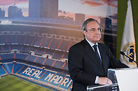 Real Madrid Football Club President, Florentino Perez