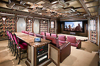 Home Theater with Automated Touch Panel