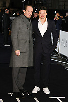 "LONDON, UK. March 08, 2019: Ralph Fiennes and Oleg Ivenko arriving for the premiere of ""The White Crow"" at the Curzon Mayfair, London.<br /> Picture: Steve Vas/Featureflash"