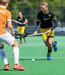 BLOEMENDAAL -  Noud Schoenaker (Den Bosch)    tijdens de hoofdklasse competitiewedstrijd hockey heren,  Bloemendaal-Den Bosch (2-1).    COPYRIGHT KOEN SUYK