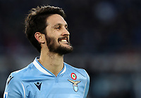 Football, Serie A: S.S. Lazio - Udinese Olympic stadium, Rome, December 1, 2019. <br /> Lazio's Luis Alberto reacts during the Italian Serie A football match between S.S. Lazio and Udinese at Rome's Olympic stadium, Rome on December 1, 2019.<br /> UPDATE IMAGES PRESS/Isabella Bonotto