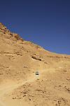 Israel, Negev, descending Noah ascent ro Ramon Crater