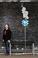 Portraits of Drew Houston & Arash Ferdowsi of Dropbox - 2010