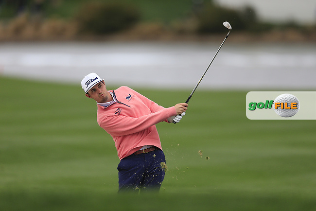 J.T. Poston (USA) on the 18th fairway during the final round of the Waste Management Phoenix Open, TPC Scottsdale, Scottsdale, Arisona, USA. 03/02/2019.<br /> Picture Fran Caffrey / Golffile.ie<br /> <br /> All photo usage must carry mandatory copyright credit (© Golffile | Fran Caffrey)