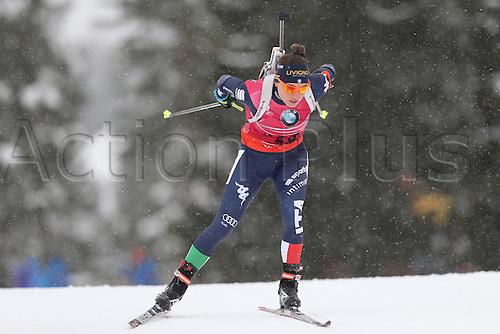 09.03.2016, Oslo, Holmenkollen, Dorothea Wierer (ITA), 15 km women individual