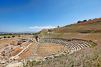 The Ancient Theatre (4th c. B.C.) of Sikyon, Greece