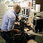 Behind the scenes during the filming of the Infiniti [G] Concept at the Nissan Technical Center on November 15, 2012 in Okatsukoku, Japan. Photo by Victor Fraile / The Power of Sport Images