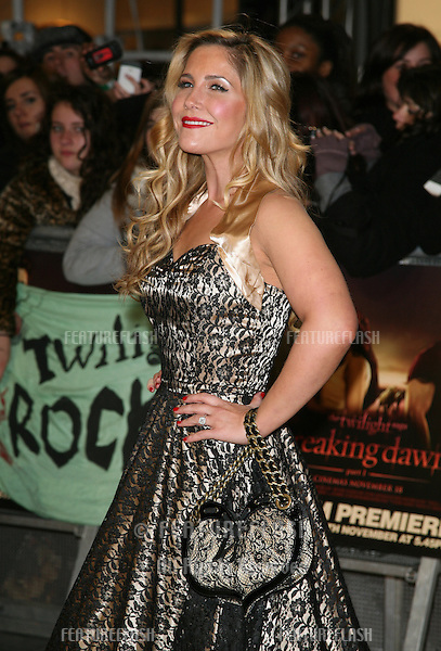 Heidi Range arriving for the UK premiere of The Twilight Saga: Breaking Dawn Part 1 at Westfield Stratford City, London. 17/11/2011 Picture by: Alexandra Glen / Featureflash