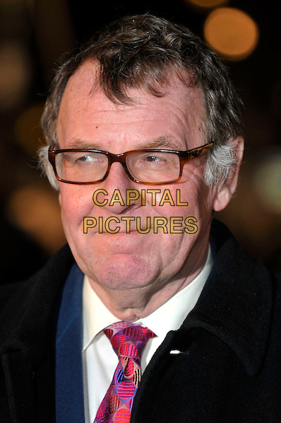 "TOM WILKINSON .""Duplicity"" World Premiere arrivals at the .Empire cinema, Leicester Square, London, England, 10th March 2009..portrait headshot glasses red pink patterned print tie .CAP/PL.©Phil Loftus/Capital Pictures"