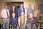 Some of the old brigade at the Irish Met Society Field Trip to Valentia Observatory, Cahersiveen on Friday night last were front l-r; Paddy Cronin(Ret.), Gerrry McDonald(Ret.), Paud Mahoney(Ret.), back l-r; Joe Gavin(Ret.), Con Curran(Ret.) Mick Griffin(Ret.), Maire Murphy & Tom Horgan(Ret.)..
