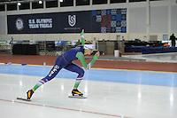 SPEED SKATING: SALT LAKE CITY: 21-11-2015, Utah Olympic Oval, ISU World Cup, training, Lisa van der Geest (NED), ©foto Martin de Jong