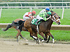 Bargain Basement winning at Delaware Park  on 10/1/11
