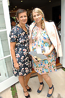 Frances Pennington, Ariana Lambert Smeraldo==<br /> LAXART 5th Annual Garden Party Presented by Tory Burch==<br /> Private Residence, Beverly Hills, CA==<br /> August 3, 2014==<br /> ©LAXART==<br /> Photo: DAVID CROTTY/Laxart.com==