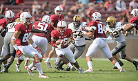 Stanford, California - Saturday, September 13, 2014: Stanford over Army 35-0 at Stanford Stadium.