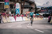 Pello Bilbao (ESP/Astana) wins stage 6<br /> <br /> Stage 6: Frontenex > La Rosière Espace San Bernardo (110km)<br /> 70th Critérium du Dauphiné 2018 (2.UWT)