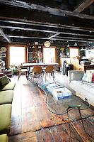 wooden floor in the living room
