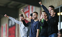 A Fleetwood Town fans applauds the fans at the final whistle <br /> <br /> Photographer Lee Parker/CameraSport<br /> <br /> The EFL Sky Bet League One - Fleetwood Town v Blackpool - Saturday 7th March 2020 - Highbury Stadium - Fleetwood<br /> <br /> World Copyright © 2020 CameraSport. All rights reserved. 43 Linden Ave. Countesthorpe. Leicester. England. LE8 5PG - Tel: +44 (0) 116 277 4147 - admin@camerasport.com - www.camerasport.com