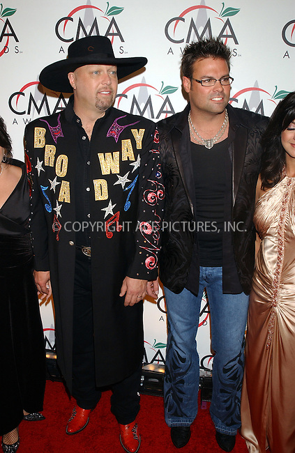 WWW.ACEPIXS.COM . . . . .....NEW YORK, NOVEMBER 15, 2005....Eddie Montgomery and Troy Gentry of Montgomery Gentry arriving to the 39th Annual Country Music Awards held at Madison Square Garden. ....Please byline: KRISTIN CALLAHAN - ACE PICTURES.. . . . . . ..Ace Pictures, Inc:  ..Philip Vaughan (212) 243-8787 or (646) 679 0430..e-mail: info@acepixs.com..web: http://www.acepixs.com