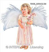 Dona Gelsinger, CHILDREN, paintings(USGEBX84313M,#K#) stickers Kinder, niños, illustrations, pinturas angels, ,everyday
