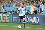 Martin Demichelis (ARG),<br /> JULY 9, 2014 - Football / Soccer :<br /> FIFA World Cup 2014 semi-final match between Netherlands 0(2-4)0 Argentina at Arena De Sao Paulo Stadium in Sao Paulo, Brazil. (Photo by AFLO) [3604]