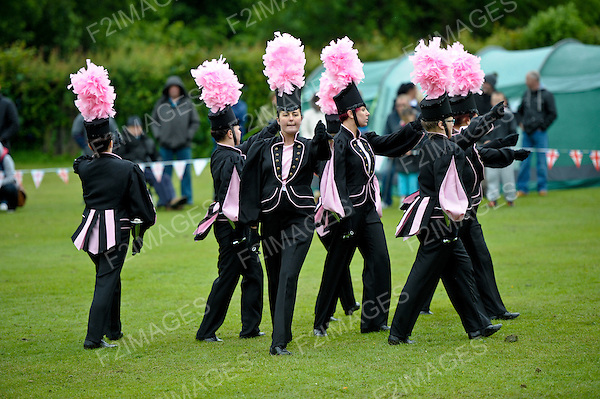 Knowsley Court Hey Park Marching Band Event 3.6.12