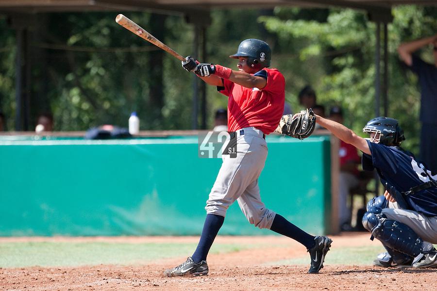 Baseball - MLB European Academy - Tirrenia (Italy) - 21/08/2009 - Andy Paz (France)