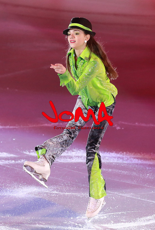 14.12.2014 Barcelona. Spain. ISU Grand Prix of Figure Skating Final 2014. Picture show Evgenia Medvedeva (RUS) in action during Gala Exhibition