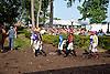 jockeys before The Delaware Handicap (gr 1) at Delaware Park on 7/12/14