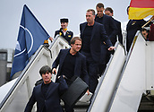 2018 FIFA World Cup Football Team Arrivals Germany Jun 12th