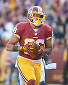 Washington Redskins tight end Jordan Reed (86) scores a touchdown in the second quarter against the Buffalo Bills at FedEx Field in Landover, Maryland on Sunday, December 20, 2015.<br /> Credit: Ron Sachs / CNP