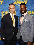 "Tony LePage and Josh Breckenridge attends the ""Come From Away"" Broadway Opening Night After Party at Gotham Hall on March 12, 2017 in New York City."