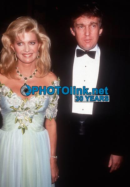 Ivana Trump Donald Trump, 1989, Photo By Michael Ferguson/PHOTOlink