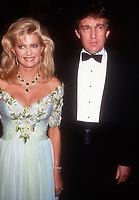 Ivana Trump Donald Trump, 1989, Photo By Michael Ferguson/PHOTOlink