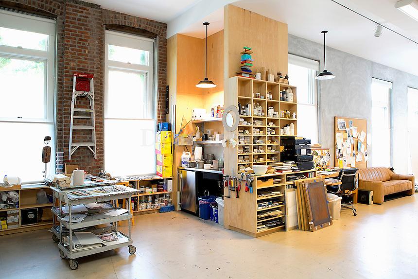 painting atelier