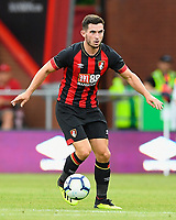 Lewis Cook of AFC Bournemouth during AFC Bournemouth vs Real Betis, Friendly Match Football at the Vitality Stadium on 3rd August 2018