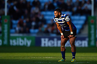 Joe Cokanasiga of Bath Rugby. Heineken Champions Cup match, between Wasps and Bath Rugby on October 20, 2018 at the Ricoh Arena in Coventry, England. Photo by: Patrick Khachfe / Onside Images