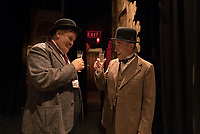 STAN &amp; OLLIE (2018)<br /> John C. Reilly as Oliver Hardy, Steve Coogan as Stan Laurel<br /> *Filmstill - Editorial Use Only*<br /> CAP/FB<br /> Image supplied by Capital Pictures