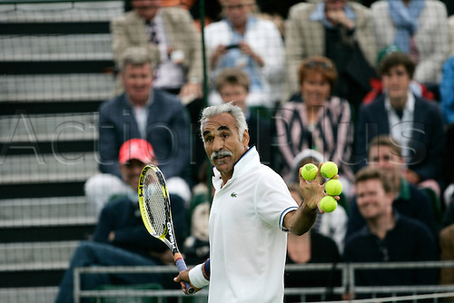 18.06.2011 The BNP Paribas Tennis Classic from the Hurlingham Club in London. Mansour Bahrami.