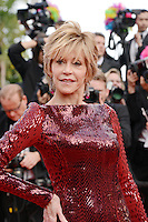"Jane Fonda attending the ""Madagascar III"" Premiere during the 65th annual International Cannes Film Festival in Cannes, France, 18.05.2012..Credit: Timm/face to face/MediaPunch Inc. ***FOR USA ONLY***"