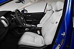 Front seat view of a 2017 Honda Clarity Electric 5 Door Hatchback front seat car photos