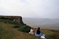 Großbritannien, Wales, Küste bei Rhosili