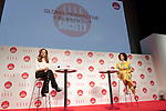 (L to R) Cartier President and CEO Veronica Prat van Thiel and Beatrice Monguidi President and Representative Director of Fendi Japan K. K., attend the ELLE WOMEN in SOCIETY 2018 on June 16, 2018, Tokyo, Japan. The annual event focuses on working women's role in the Japanese society through various seminars where top businesswomen, celebrities and leaders are invited to speak. (Photo by Rodrigo Reyes Marin/AFLO)